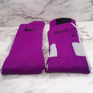 Nike Dri-Fit Men's Large Crew Socks Athletic Sport